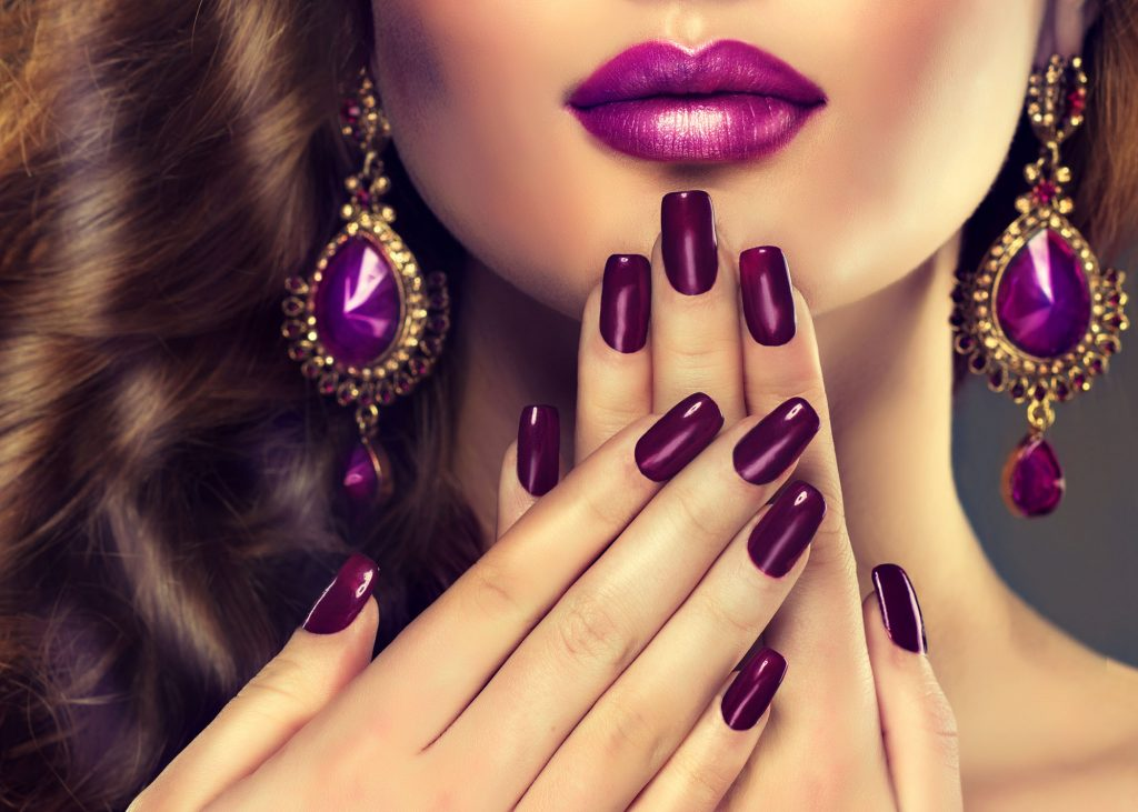Luxury Fashion Style Manicure Nail Cosmetics And Make