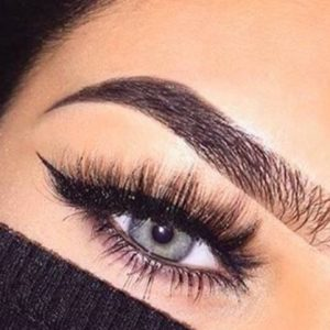 eyes lashes & brows